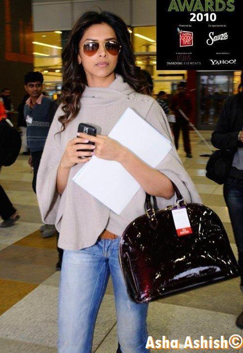 Deepika Padukone Carrying Louis Vuitton Bollywood Celeb Bag Style