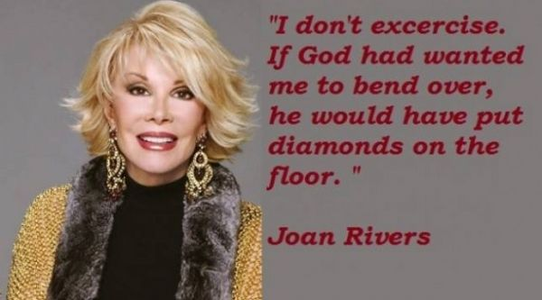 Joan Rivers Joan Rivers Quotes Female Comedians Comedian Quotes