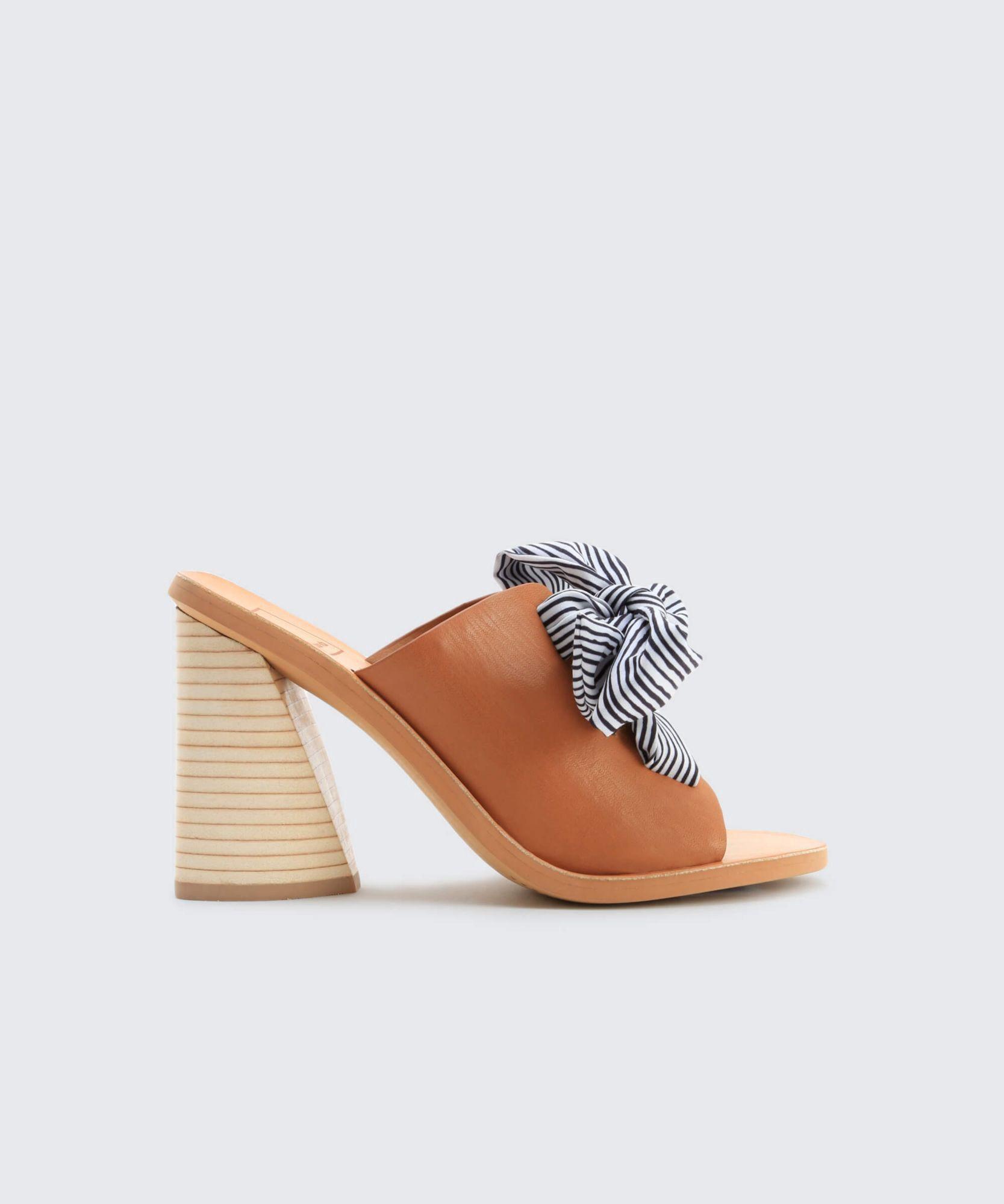 f9982a161512 Dolce Vita Amber Heels - Caramel 9.5