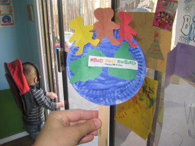 Love One Another Love Your Enemies Paper Plate Earth Craft