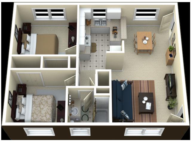 2 Bedroom Apartment Apartment Layout Apartment Floor Plan Apartment Bedroom Design