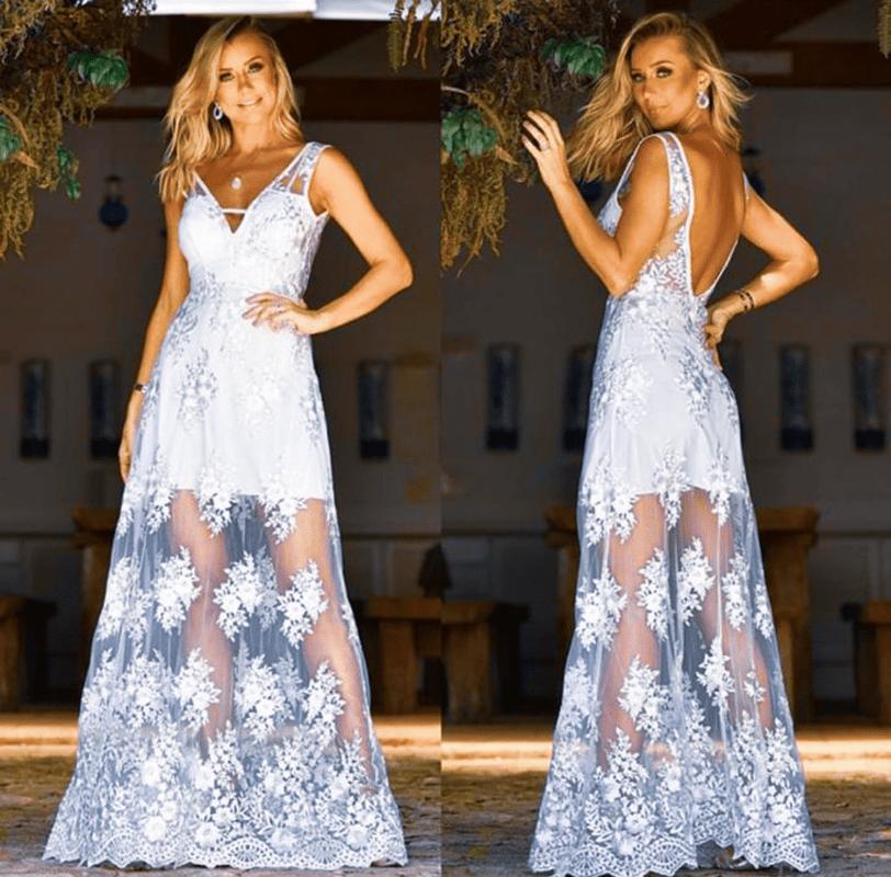 قماش فستان سهرة تل U3s44 Fashion Dresses Formal Dresses Long