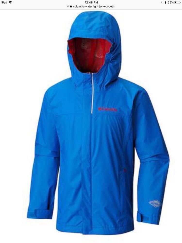 Columbia Boys Watertight Waterproof Jacket