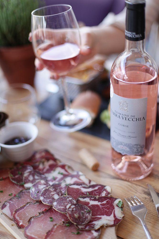 Corsican rosé from Domaine Terra Vecchia | Gastronomie, Vin rosé, Mets vins