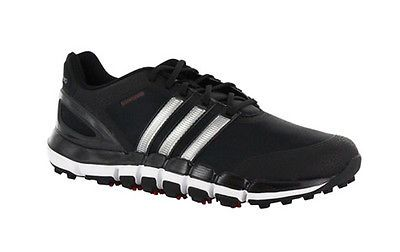 Adidas Pure 360 Gripmore Sport Golf Shoes Black/Silver Q47015 New Closeout  Shoe