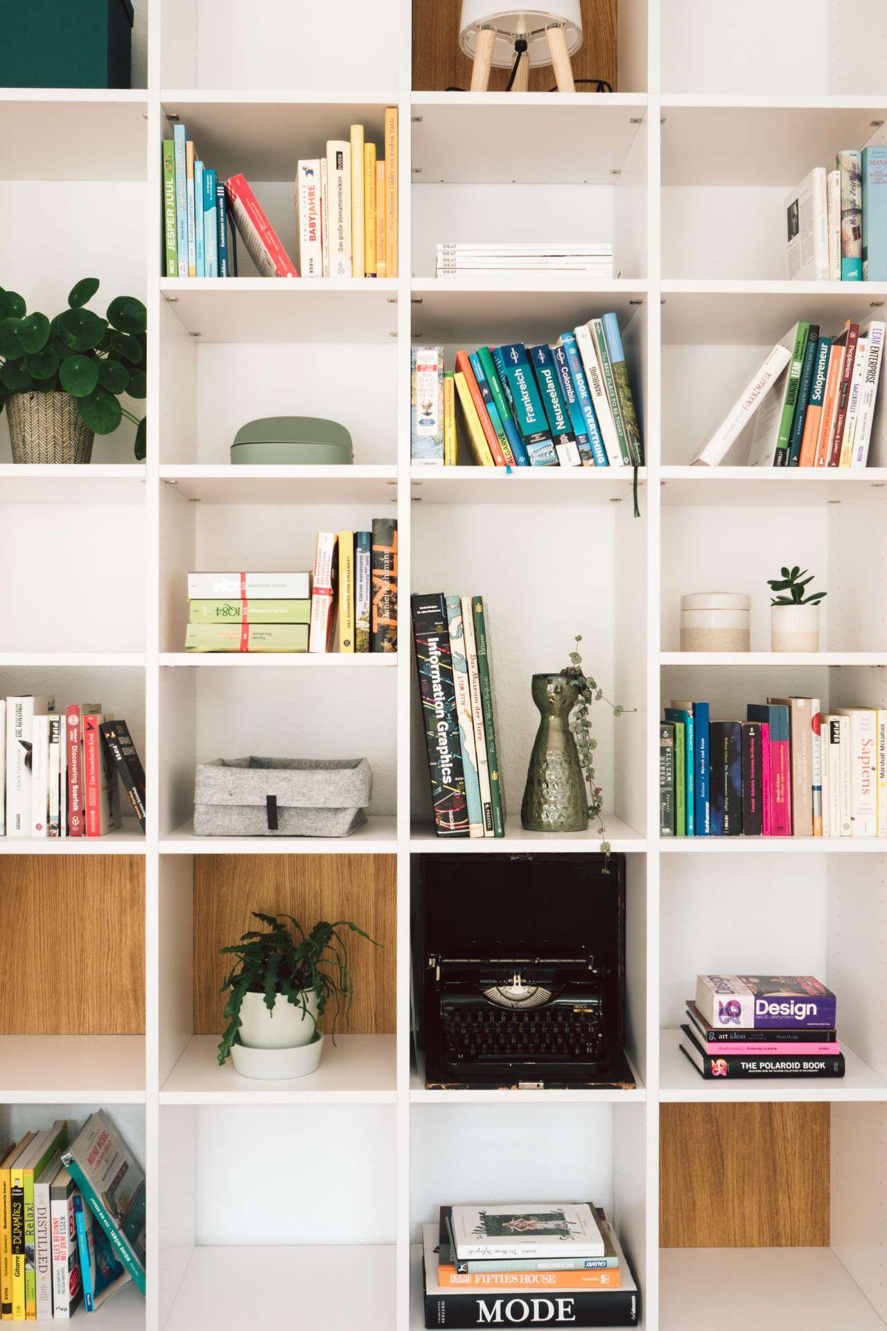 Wohnzimmer-Update: Mein Traum von Bücherregal  Bücherregal, Regal