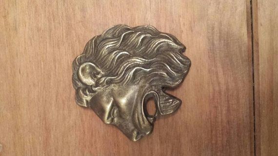 Check out this item in my Etsy shop https://www.etsy.com/listing/207590062/lion-head-belt-buckle