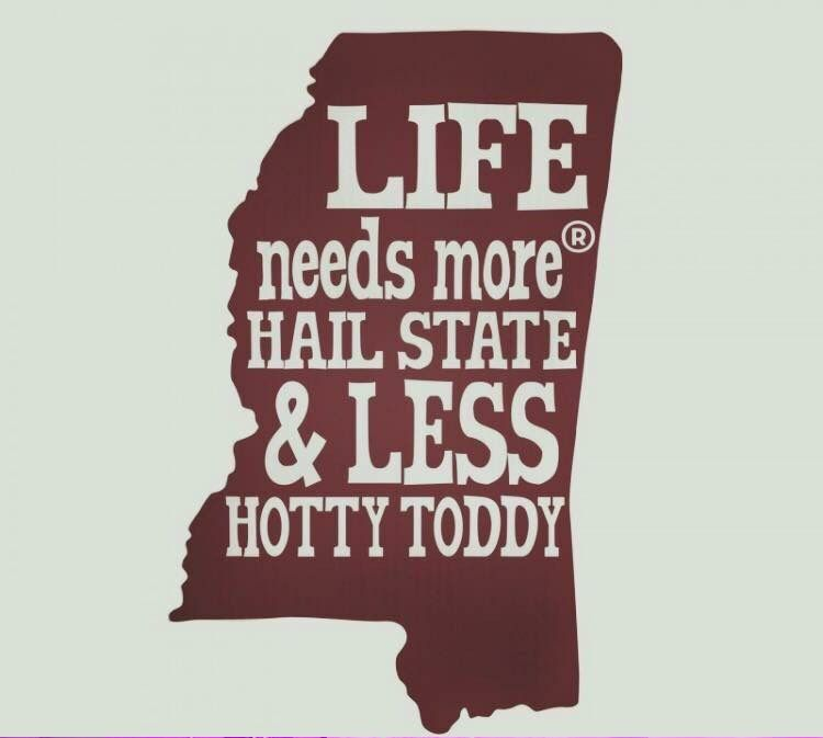 HA1L STATE!!! | Hail state, Mississippi state university ...