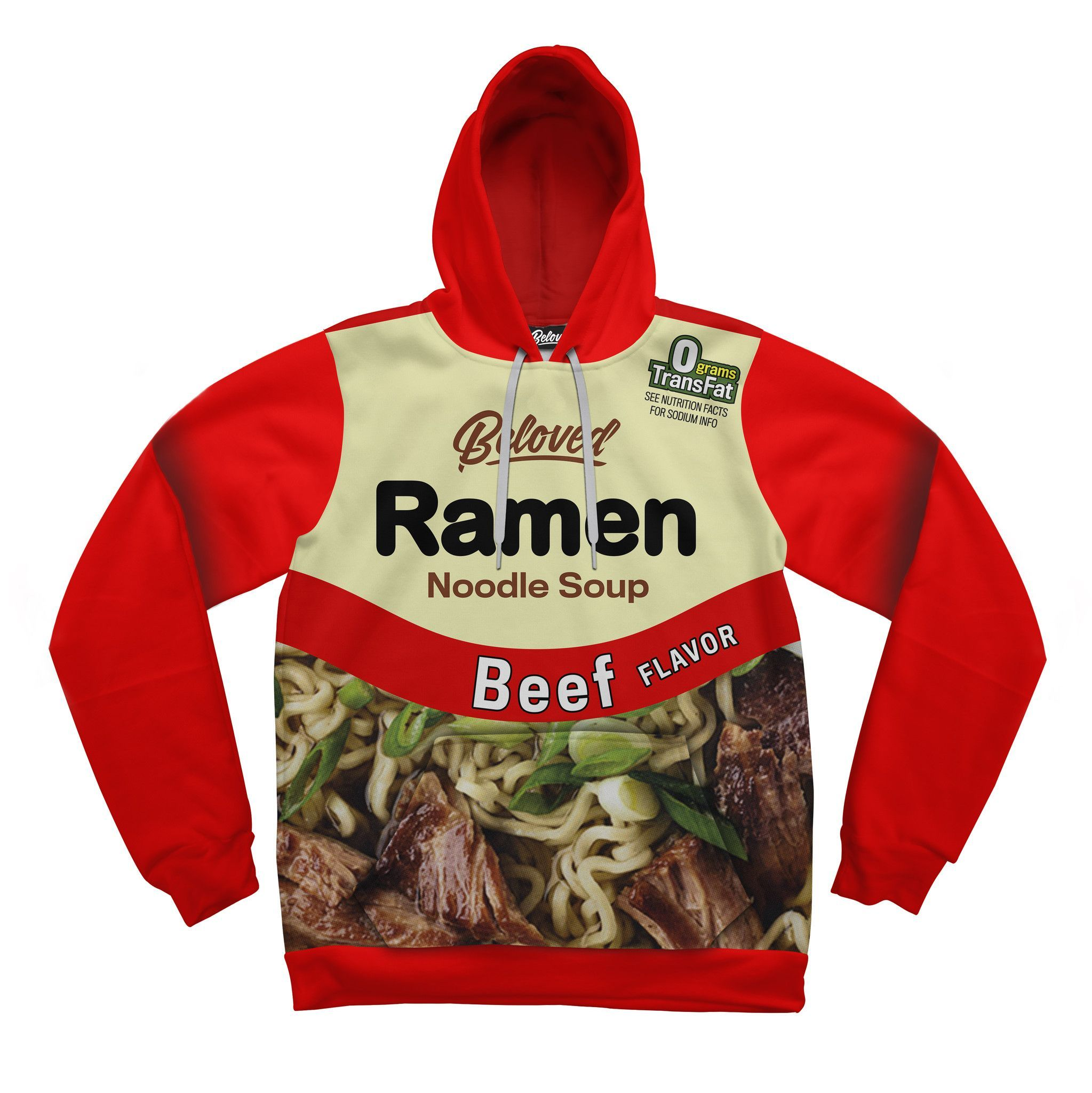 b7e4ae9cd9ad Green Chili Ramen Hoodie | Beef - Let's Celebrate with great beef ...