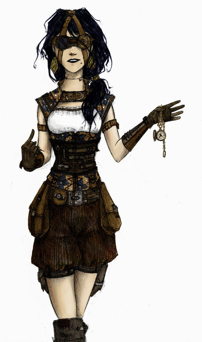 Character Costume Design Tips : Steampunk characters google search