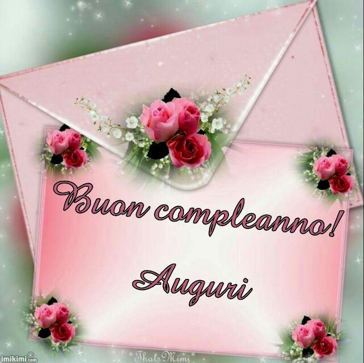 bella buon compleanno amica mia lettera immagine   WhatsApp Web