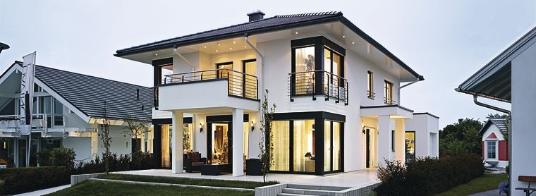 Weberhaus german house builder german home kit houses for Energy efficient kit homes
