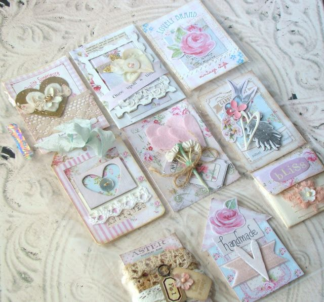 Blog About Scrapbook Card Making And All Things Paper Atc Cards