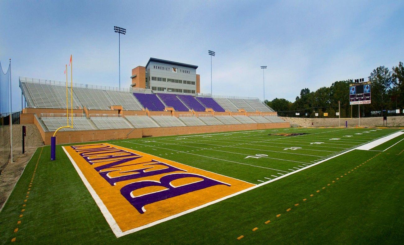 Benedict college johnson football stadium mcmillan