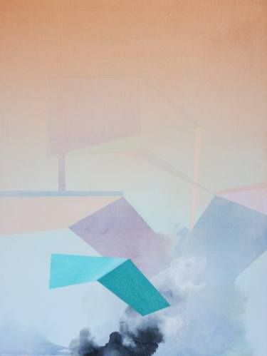 "Saatchi Art Artist Wendi Turchan; Painting, ""Mist"" #art"