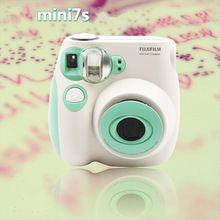 Fujifilm Instax Mini 7s Instant Film Photo Polaroid Camera Mint Green Free ShippingChina Mainland