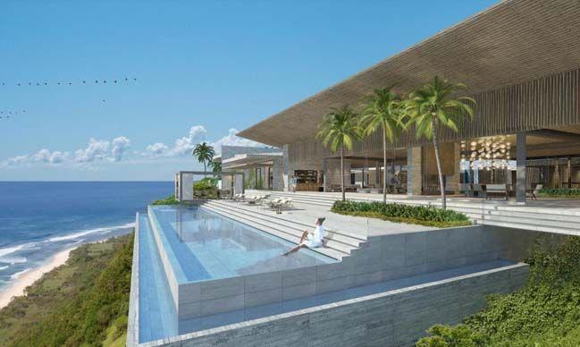 Amazing Cliff Villa In Bali Indonesia Modern Villa Design Architecture Villa Design