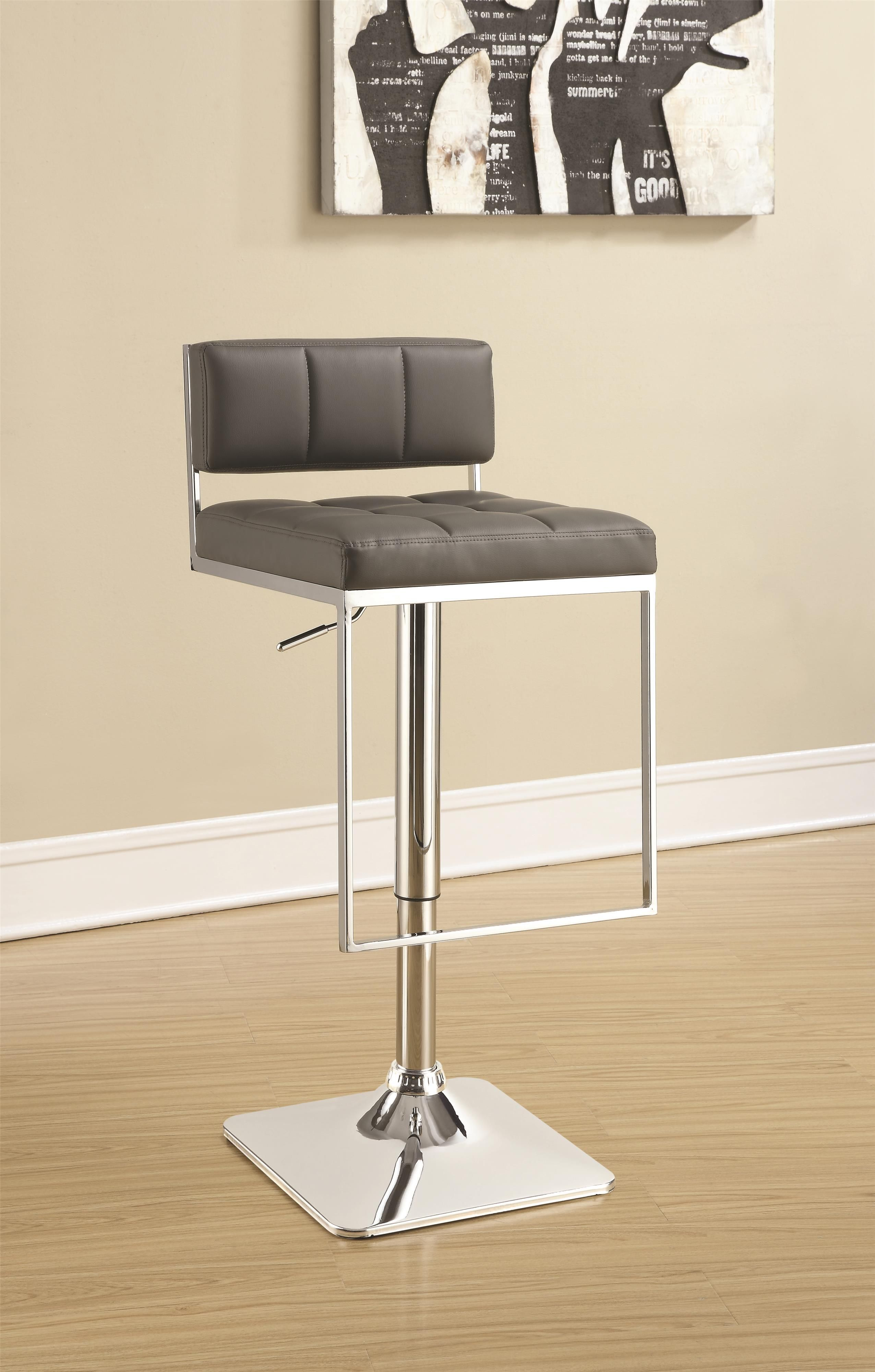 Cs195 Bar Stool In 2020 Adjustable Bar Stools Modern Bar Stools