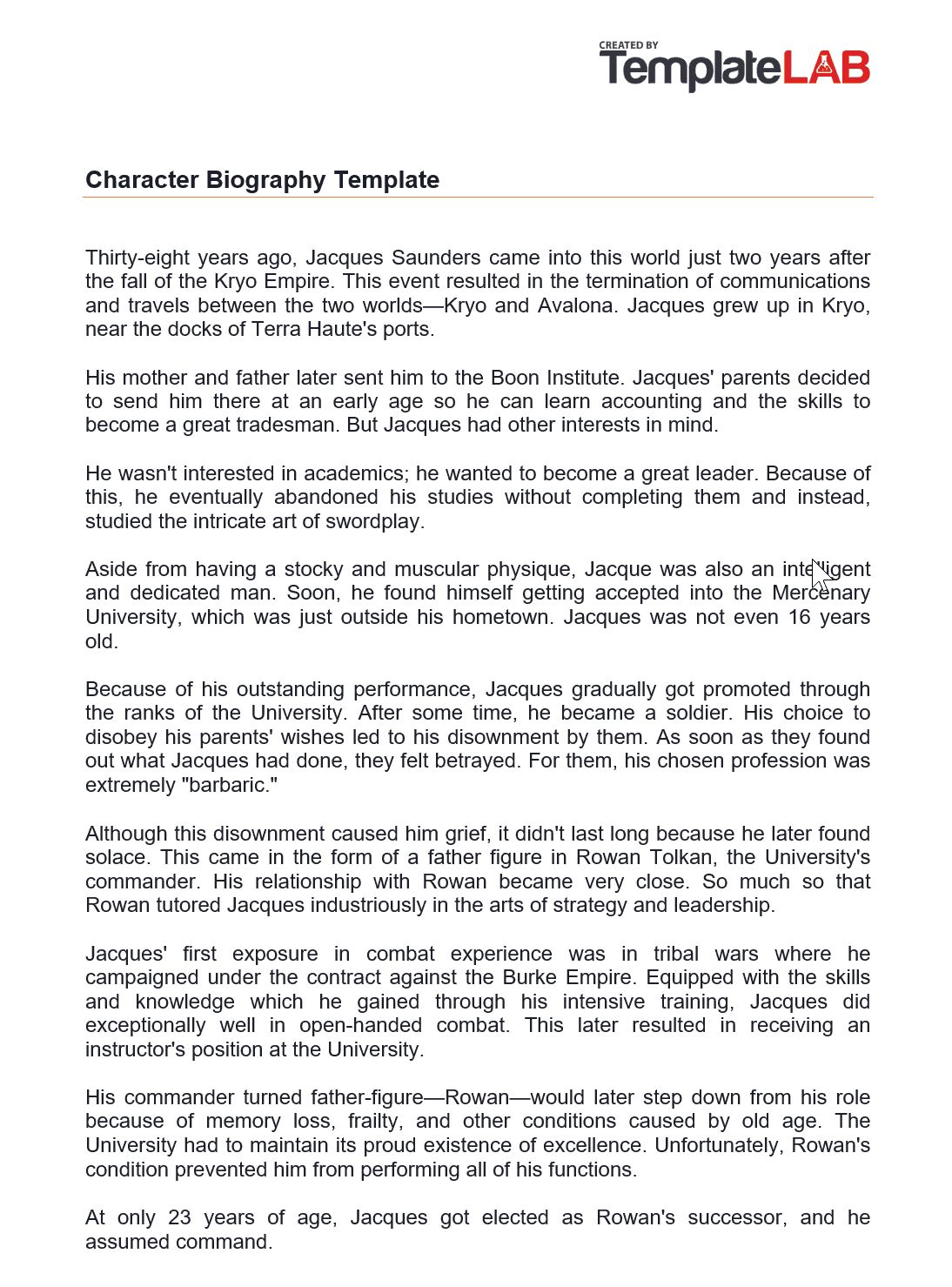 45 Biography Templates Examples Personal Professional Within Free Bio Template Fil Biography Template Book Report Templates Biography Book Report Template