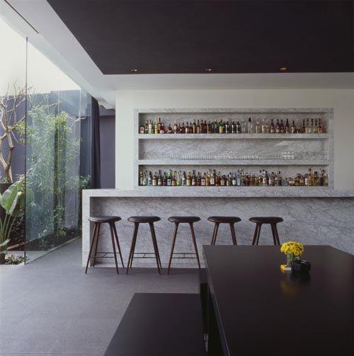 Contemporary Mini Bar Design Home - Kitchen Haven Pinterest