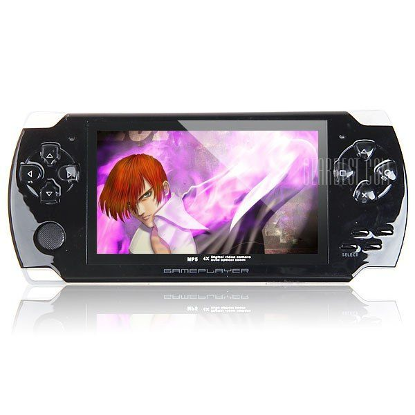 Portable 4.3 inch TFT 4GB MP5 Player Game Console FM Radio with TV - OUT and 3.0MP Camera  Portable 4.3 inch TFT 4GB MP5 Player Game Console FM Radio with TV - OUT and 3.0MP Camera  EUR 18.29  Meer informatie  http://bit.ly/1Uhl5BY