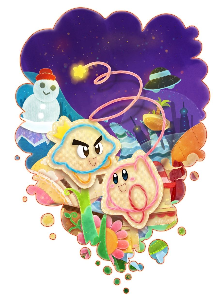 Nintendo 008 Kirby S Epic Yarn By Anokazue With Images Kirby