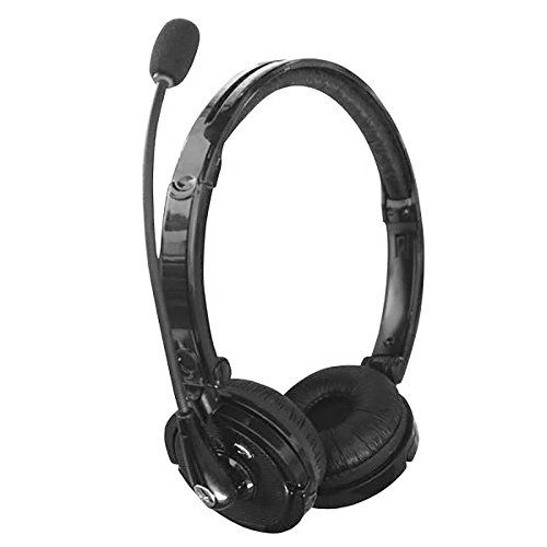 Bluetooth 41 Headsets2 In 1 Stereo Handsfree Headset Boom Mic Noise Canceling Wireless Bluetooth Headphone Headset Bluetooth Headset Headphones With Microphone