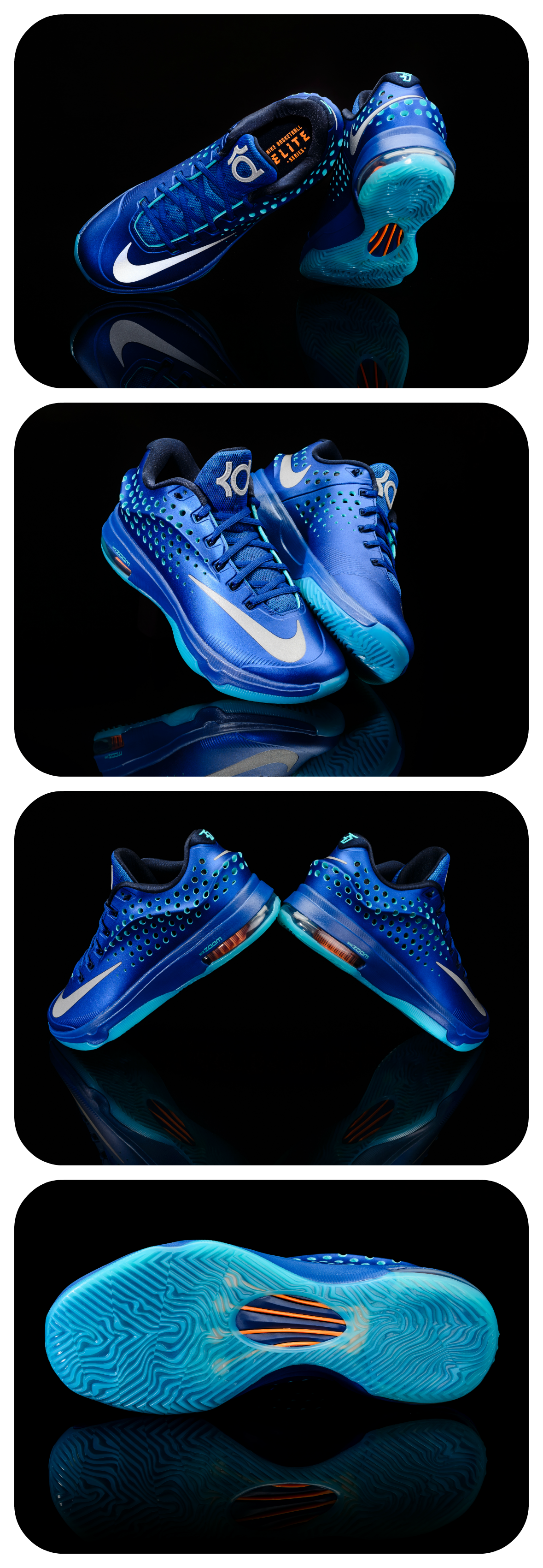 Tomorrow you can reach for the sky and elevate your game with the latest Nike KD 7 Elite colorway. #Basketball #Shoes #KevinDurant
