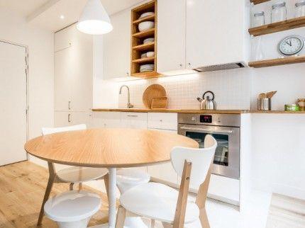 A 35 m2 Parisian apartment is reinventing itself in subtlety #apartment #parisien #reinvente #subtilite#apartment #itself #parisian #parisien #reinvente #reinventing #subtilite #subtlety