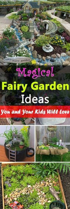 Magical Fairy Garden Ideas You  Your Kids Will Love Sherries