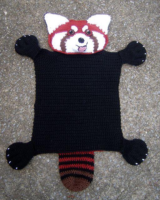 Amigurumi red panda pattern. Amigurumi pattern. Crochet pattern ... | 640x511
