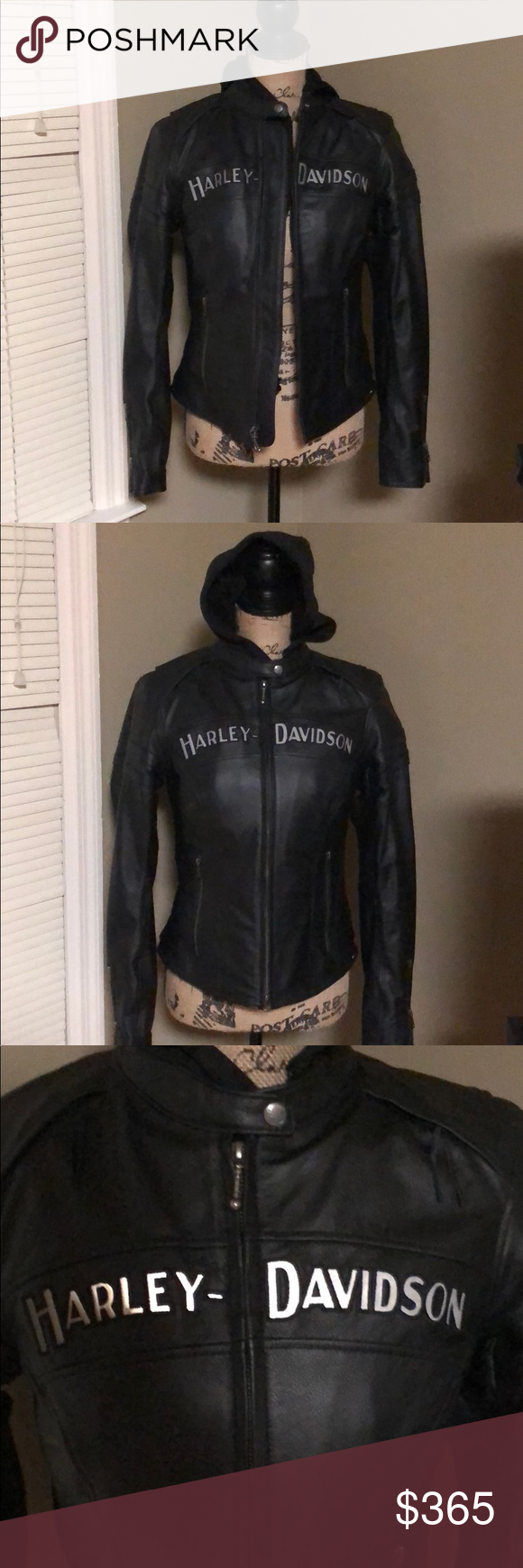 Harley Davidson 3in1 Enthusiast leather jacket Leather