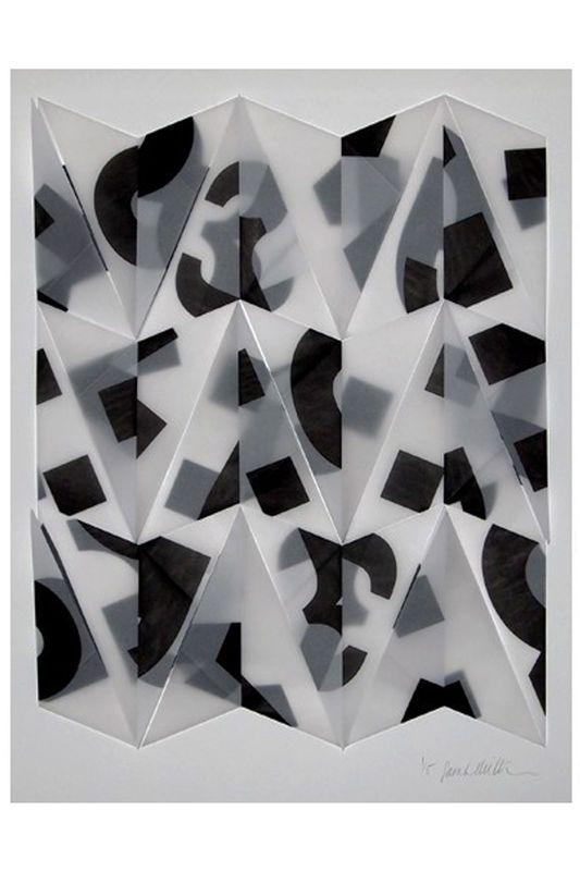 Actualité / Sarah Milton déconstructrice de typo / étapes: design & culture visuelle