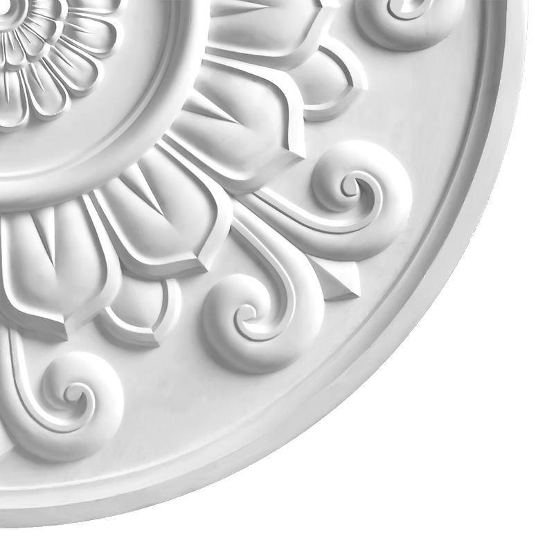 Arts and Crafts Plaster Ceiling Rose