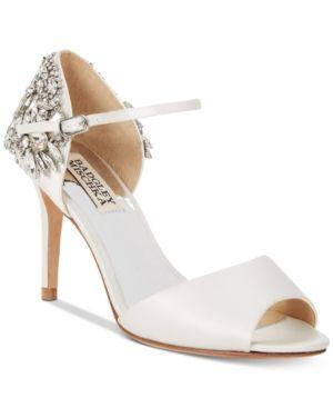 Badgley Mischka Harbor Evening Sandals - White 7M