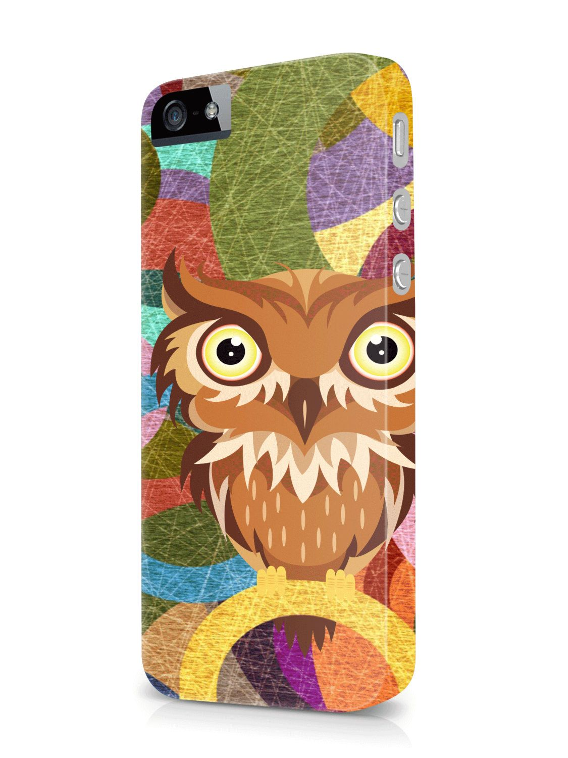 New Design Owl Fashion Funny 3D Hard Case Cover for Apple Iphone Samsung Galaxy by Cases4YouDesign on Etsy