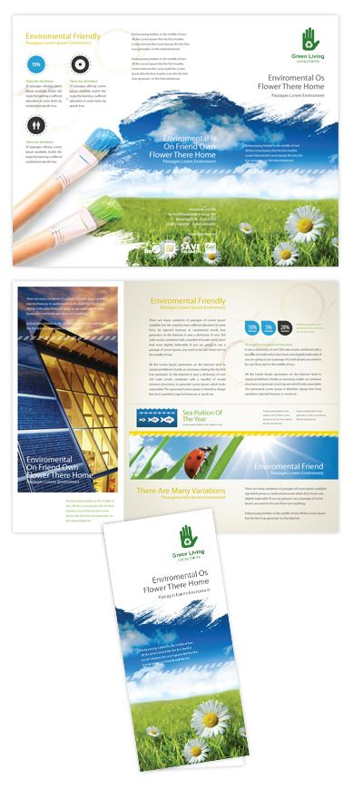 Environmental Groups Tri Fold Brochure Template Will Be A Good