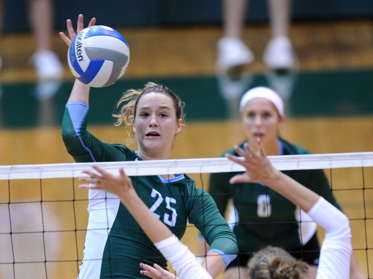 Cori Martone Tulane Mb 6 0 Sr Baton Rouge La St Joseph S 2012 C Usa Second Team Volleyball Team Womens Soccer Mens Soccer