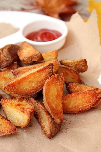 Crispy Wedge Potatoes Probably One Of The World S Favourite Ingredients The Potato By Adventuress Heart Food Recipes Cooking Recipes