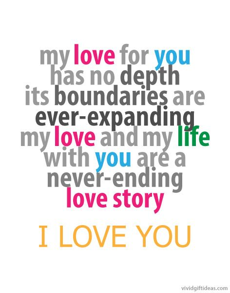 Love Story Quotes 6 Love You Quotes For Him Valentine's Day Special  Pinterest