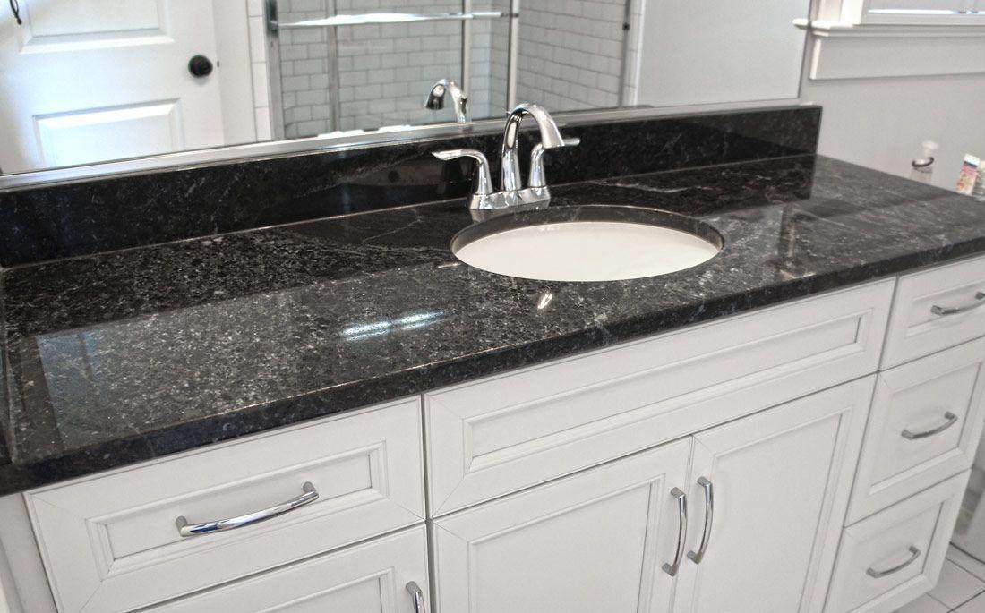 Granite Marble Quartz Countertops And More Black Pearl Granite Granite Bathroom Black Granite Countertops Black Quartz Kitchen Countertops