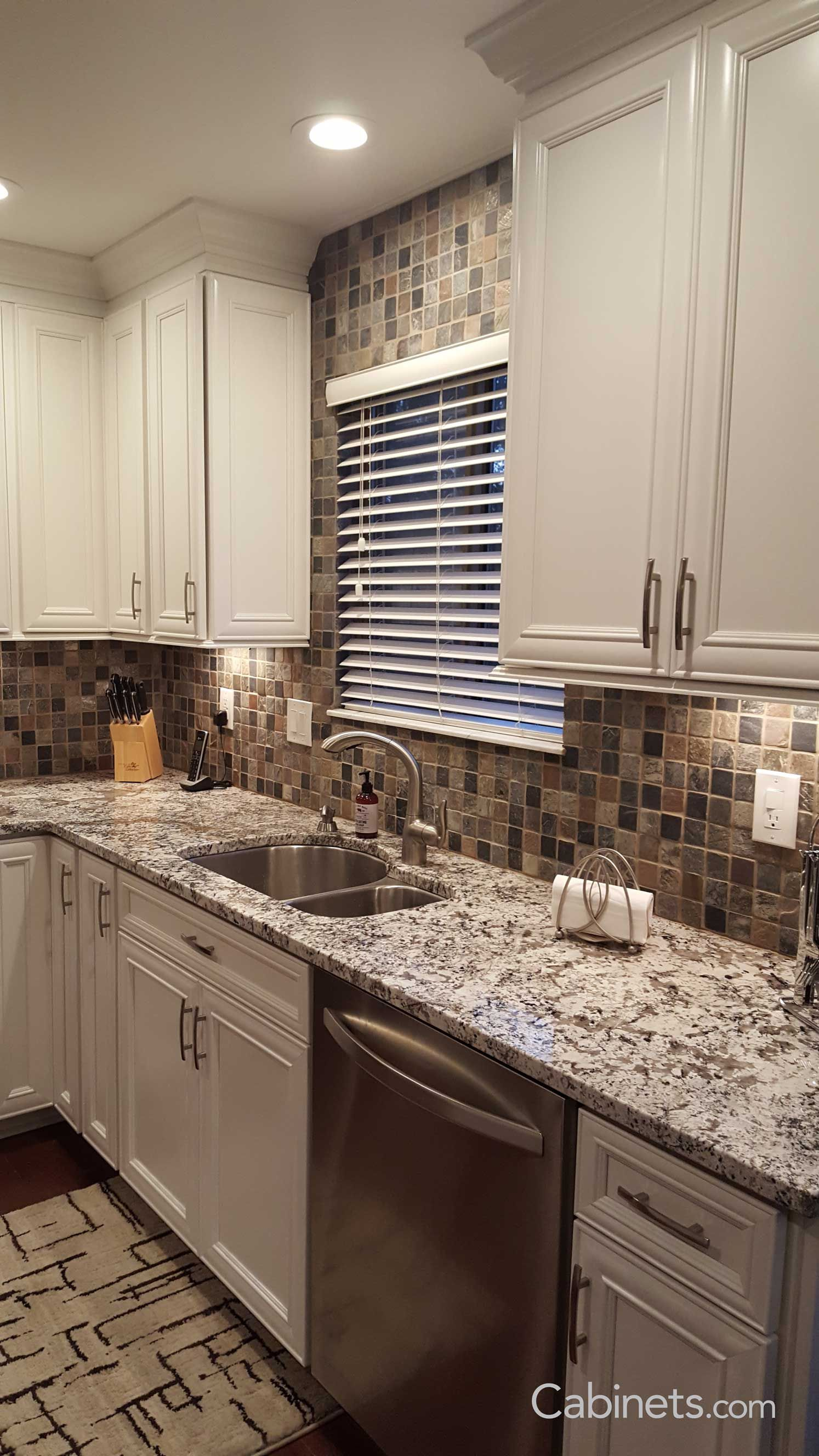Backsplashes Backsplashideas Backsplash Kitchen White Cabinets