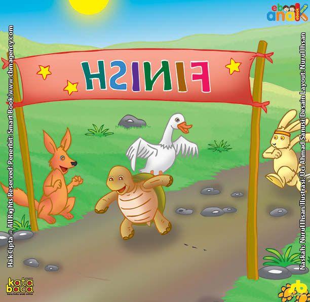 Lomba Lari Si Kencang Kiki Kelinci Dan Si Lambat Kura Kura Kura Kura Kelinci Buku Anak