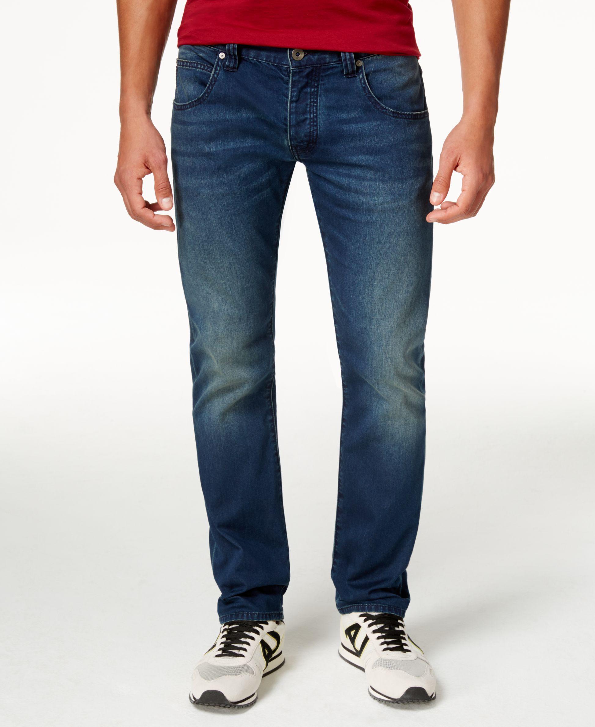 b45d510e Armani Jeans Men's J08 Slim-Fit Jeans   Products   Armani jeans men ...