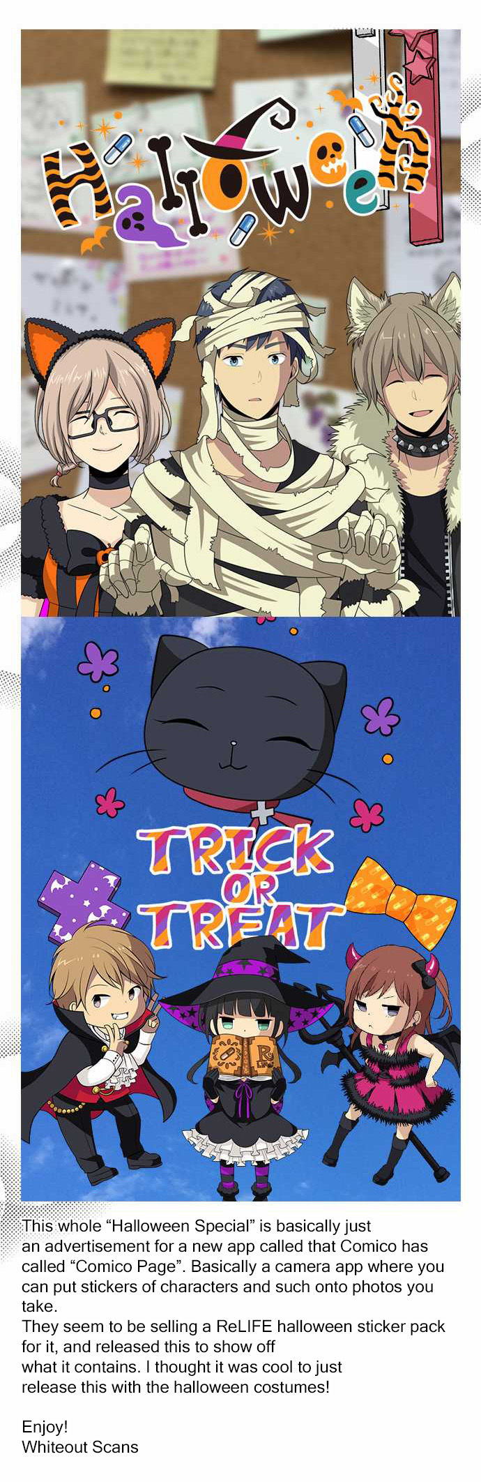 ReLIFE 100.1 Halloween Special at MangaFox.me Anime