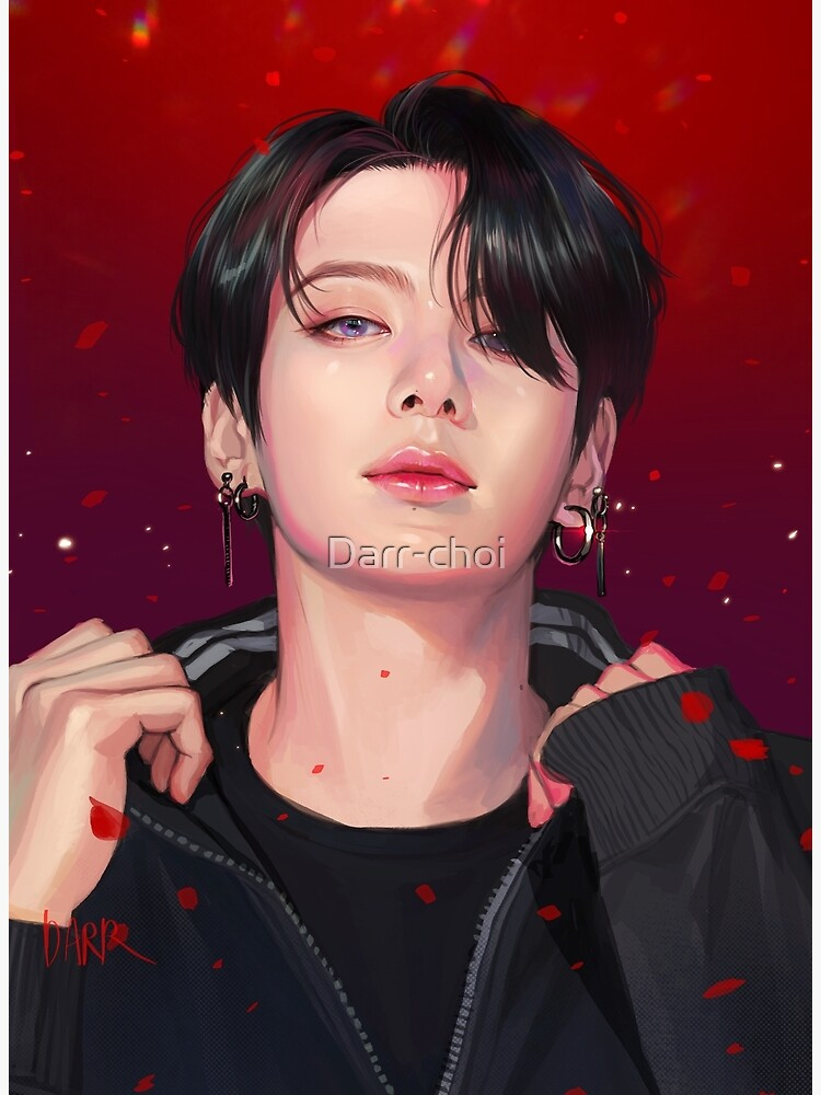 JK-Red Photographic Print