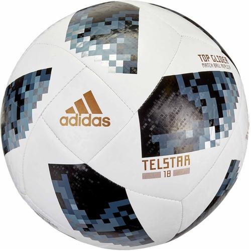 detailed look f2a81 ac53c adidas FIFA World Cup Top Glider Ball White Black Metallic Silver