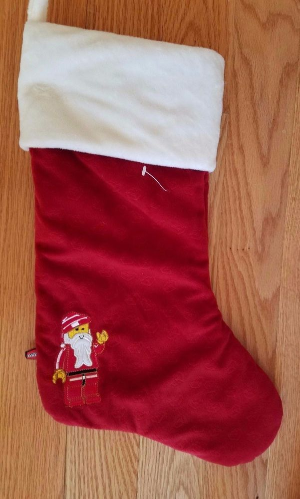 Traditional Handmade Christmas Stocking; Mouse About Town!