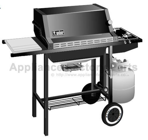 Weber Spirit 500 Mine Is Red Grilling Gas Grill Grill Parts