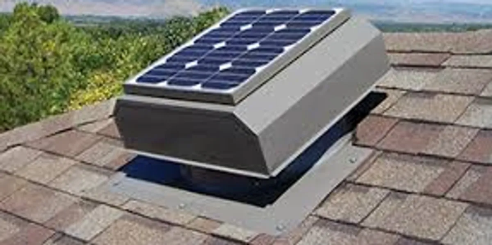 Galaxy Builders Inc Roofing Contractor Shingles Galaxy Builders Inc In 2020 Solar Attic Fan Attic Exhaust Fan Solar Roof Vents